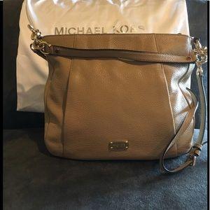 Michael Kors Tan Leather Hobo Handbag